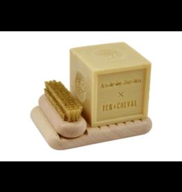Box zeep & nagelborstel licht