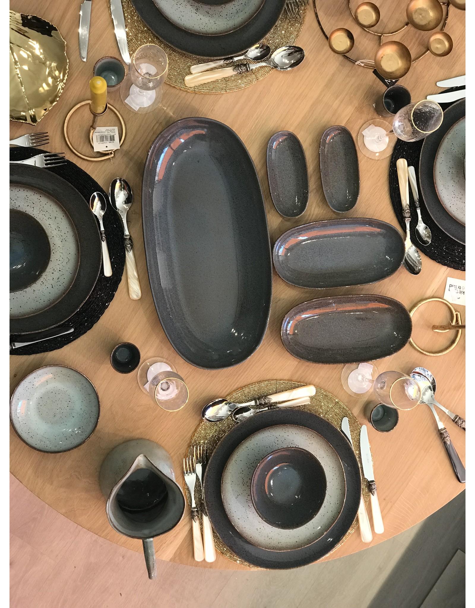 Kitchen Trend Kom klein Stone zeegroen