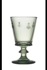 Kitchen Trend groen wijnglas bee | La Rochère