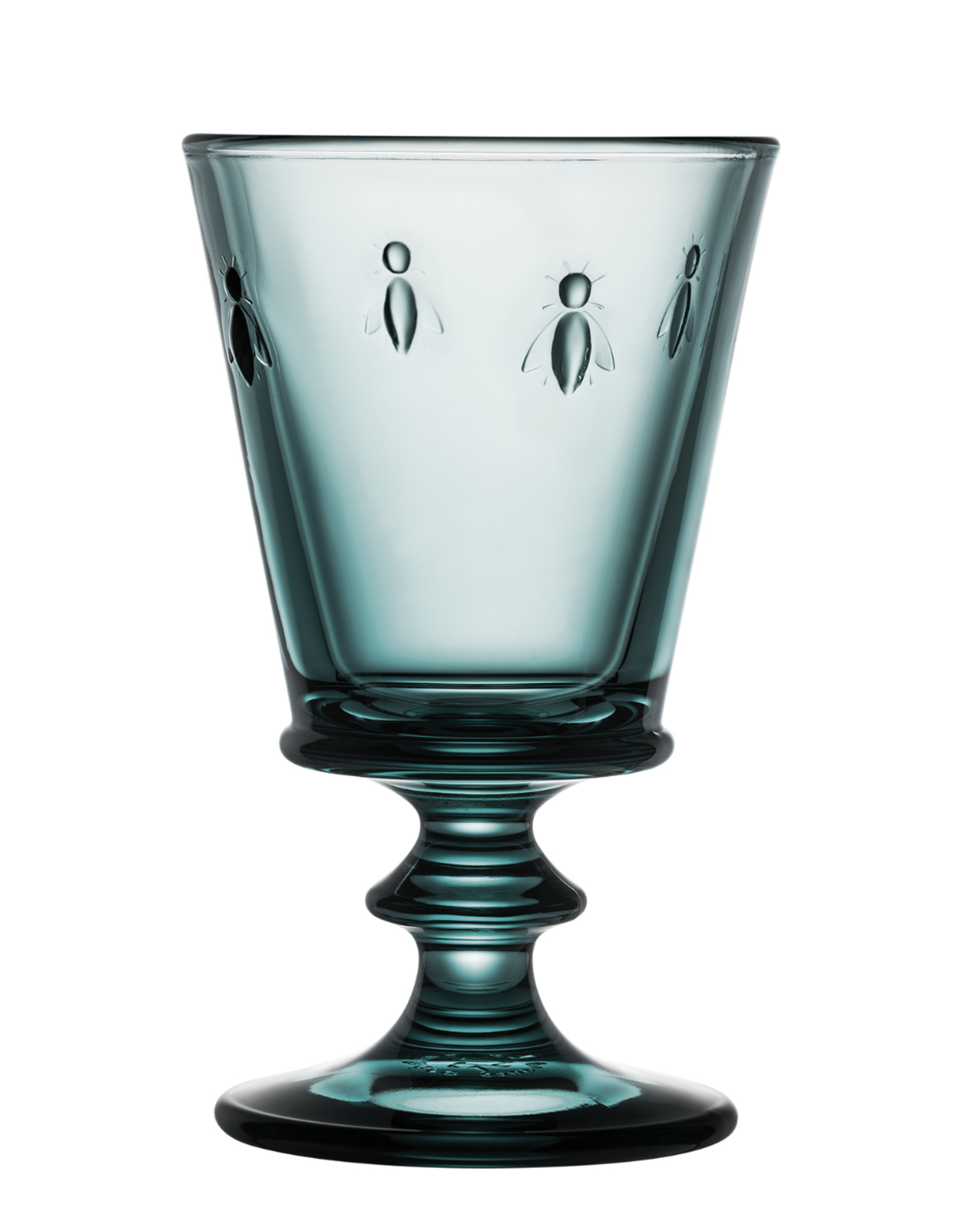 Kitchen Trend blauw wijnglas bee | La Rochère