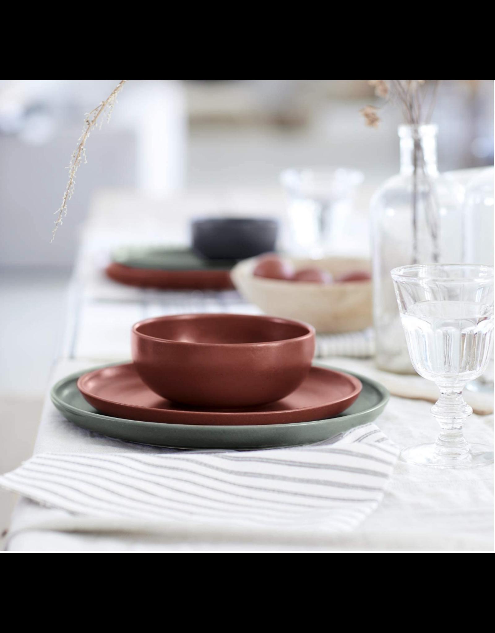 Kitchen Trend Kop en schotel Pacifica rood