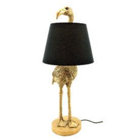 Kitchen Trend Struisvogel lamp met kap goud