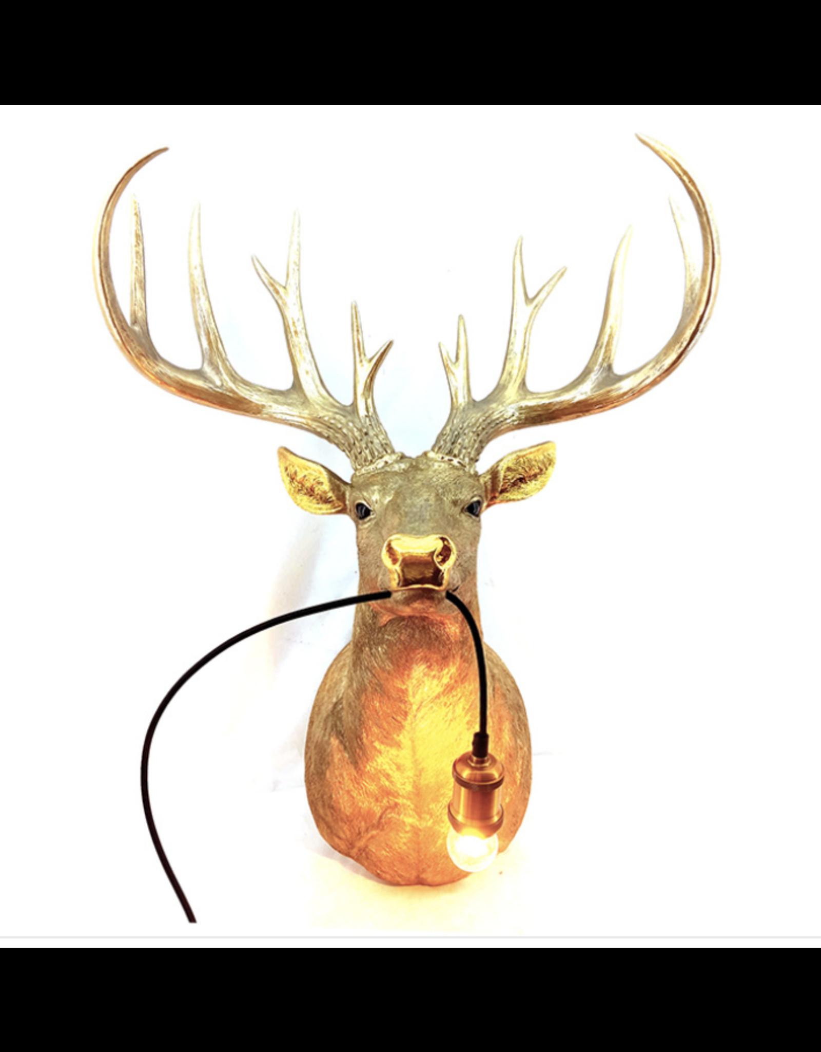 Kitchen Trend Hert lamp groot goud