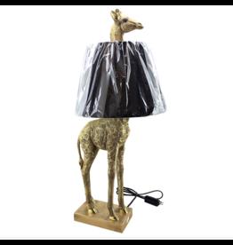 Kitchen Trend Giraf lamp staand goud met kap