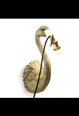 Kitchen Trend Flamingo lamp hangend goud