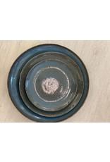 Kitchen Trend Schaal rond 35cm stone petrol