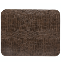 Kitchen Trend Rect. placemat 100% PU, CLUB, caramel