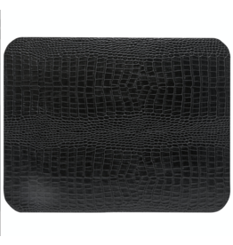 Kitchen Trend Rect. placemat 100% PU, CLUB, black
