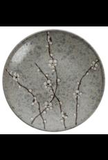 Grey Soshun Plate 25.5cm