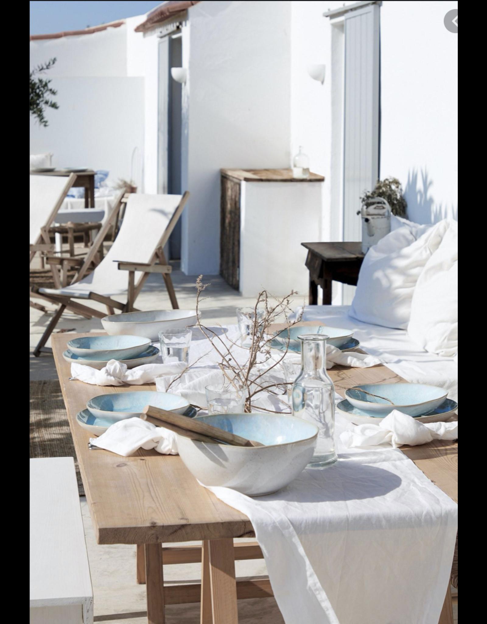 Ontbijtbord 22cm, EIVISSA, sea blue
