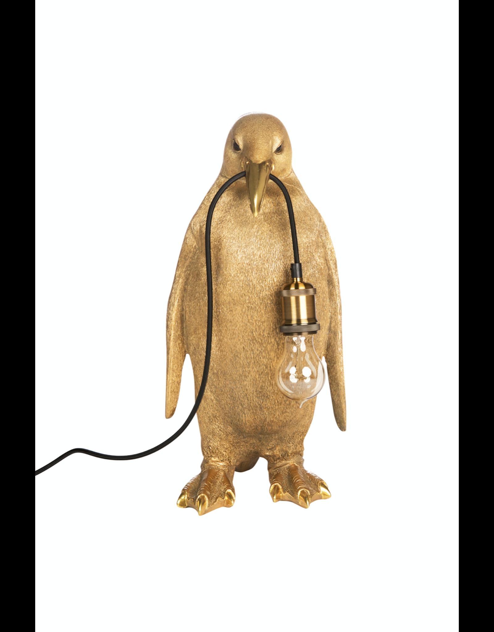 Kitchen Trend pinguïn lamp goud