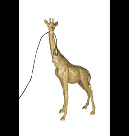 Kitchen Trend Giraffe Lamp goud staand