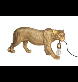 Kitchen Trend Luipaard lamp goud