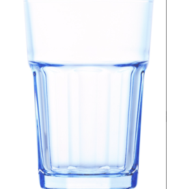 Kitchen Trend Longdrinkglas Malmo blauw set van 4