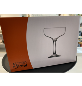Kitchen Trend Champagne/cocktailglas Monaco set van 4