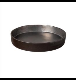 Kitchen Trend Soup/pasta bord 24cm lagoa zwart