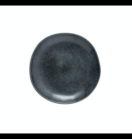 Kitchen Trend Ontbijtbord livia mat zwart (ø 22 cm)