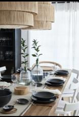 Kitchen Trend Ovale oven schaal 36cm Livia mat zwart