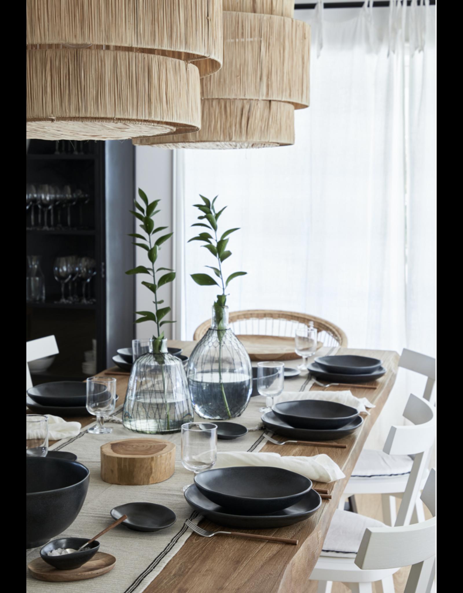 Kitchen Trend Serveer schaal 26cm Livia mat zwart