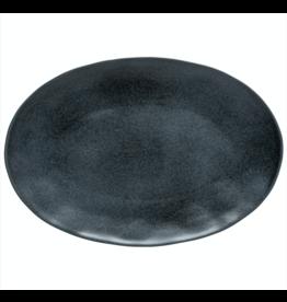 Kitchen Trend Ovale schaal 45cm Livia mat zwart