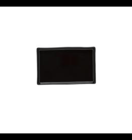 Kitchen Trend Rechthoek schaaltje 19 cm Lagoa ecogres zwart