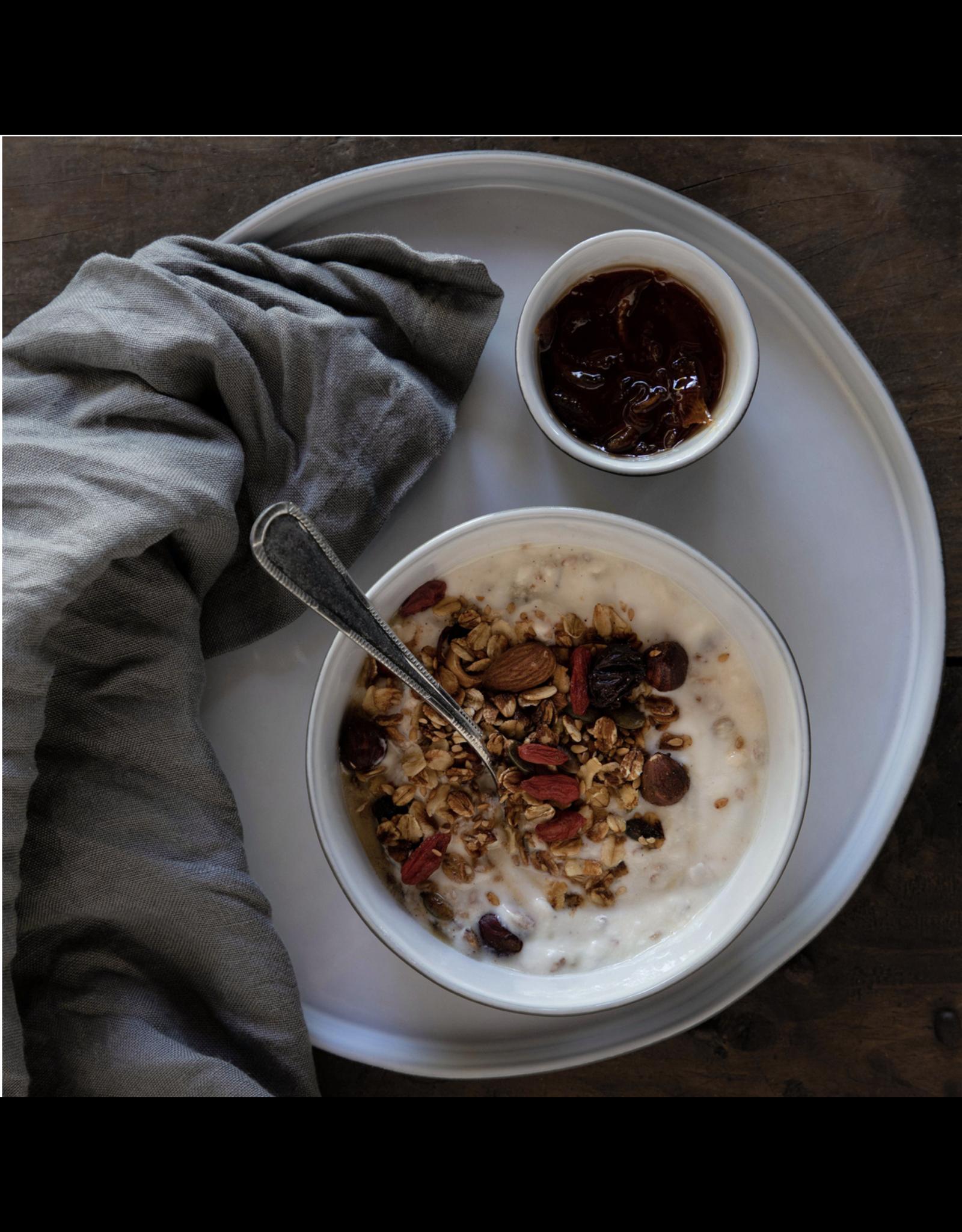 Kitchen Trend soup/pasta bord 24cm lagoa ecogres wit