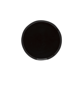 Kitchen Trend Lagoa ecogres ontbijtbord zwart