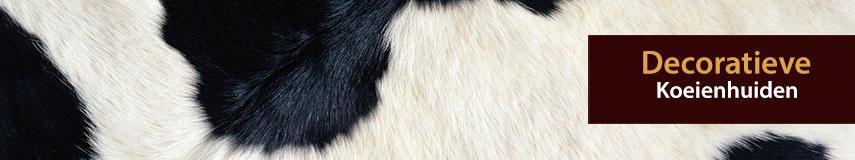 Decoratieve koeienhuiden en koeienvellen kopen