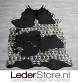 Koeienhuid zwart wit modern 230x170cm