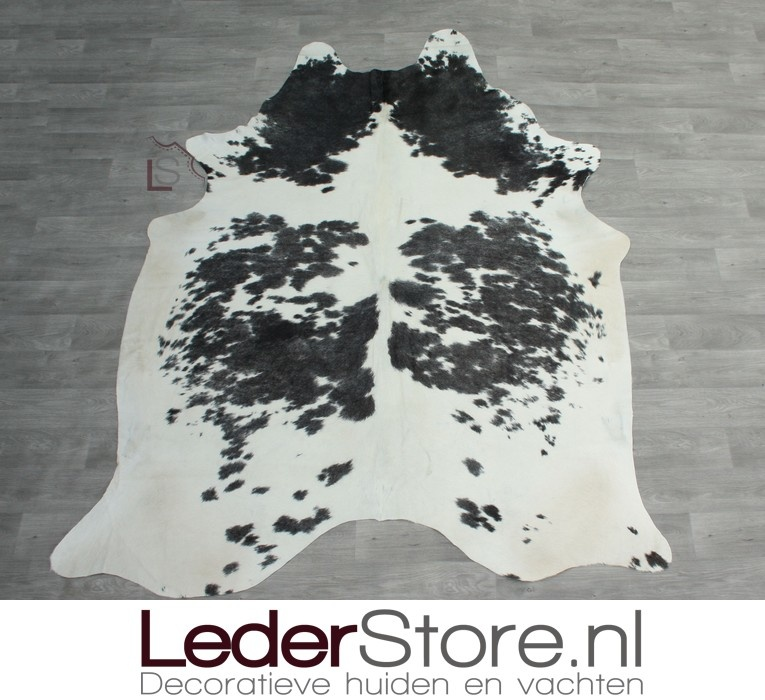 Koeienhuid grijs wit 235x185cm