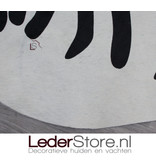 Koeienhuid zebraprint 205x180cm