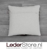 Cowhide pillow Normandic 40x40cm