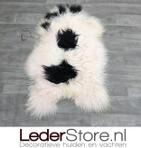 Sheepskin black pink 110x65cm