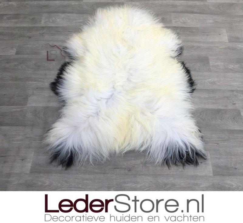 Icelandic sheepskin brown creme 125x90cm