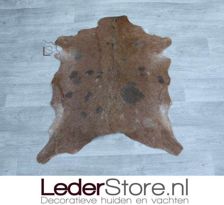 Geitenhuid bruin 90x75cm