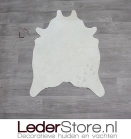 Mini cowhide rug cream 90x60cm