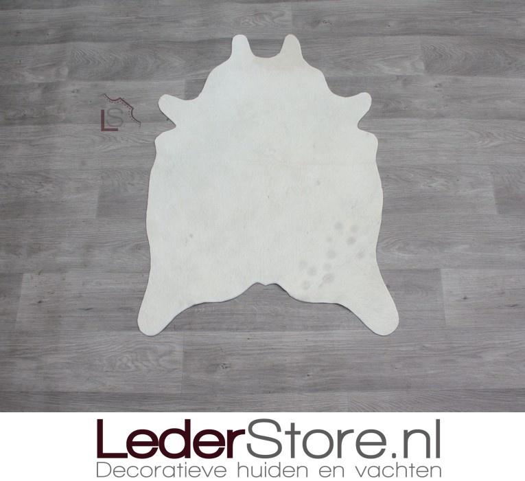 Mini cowhide rug cream 90x60cm