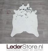 Mini cowhide rug black white 90x60cm
