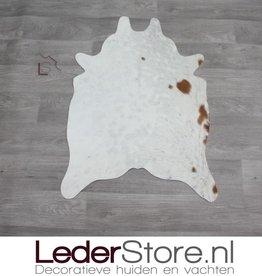 Kleine koeienhuid bruin wit 90x60cm
