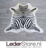 Kleine koeienhuid zebraprint 90x60cm