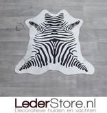 Kleine koeienhuid zebraprint 70x70cm