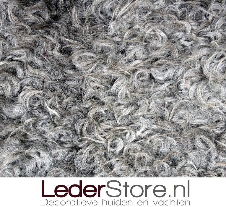 Sheepskin gray cream 100x80cm