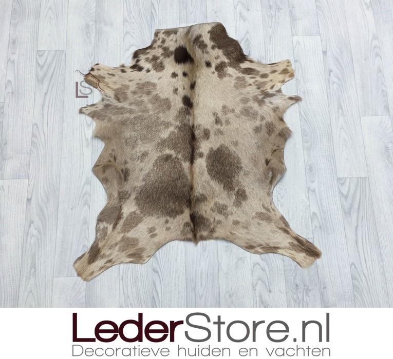 Goatskin rug special 80x75cm