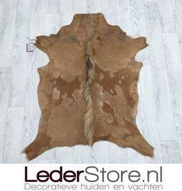 Goatskin rug brown 90x70cm