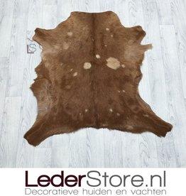 Geitenhuid bruin 85x85cm