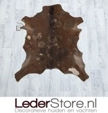 Goatskin rug brown 80x70cm