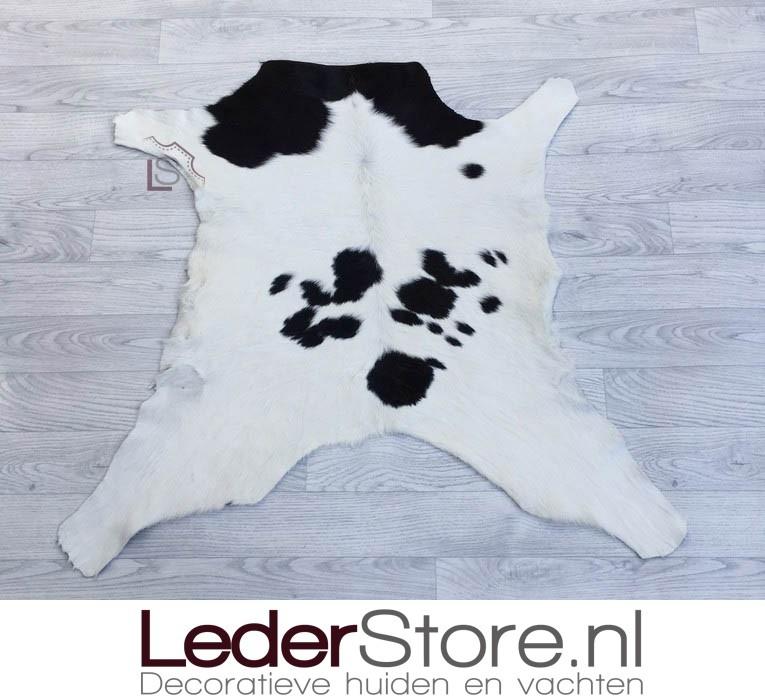 Kalfshuid zwart wit 90x95cm