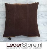 springbok pillow brown white natural 45x45cm