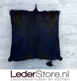 springbok pillow blue dyed 45x45cm