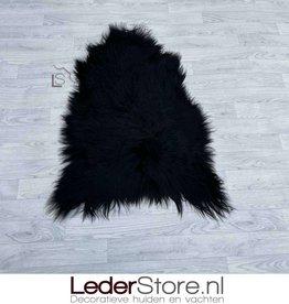 Icelandic sheepskin black 110x80cm
